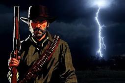 شاهد بالفيديو لأول مرة عاصفة من نوع آخر داخل لعبة Red Dead Redemption 2 ، شيء نادر لكنه موجود !