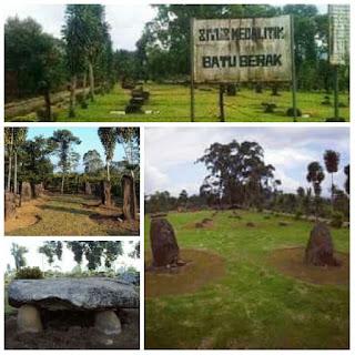 Situs Megalitik Batu Berak Lampung