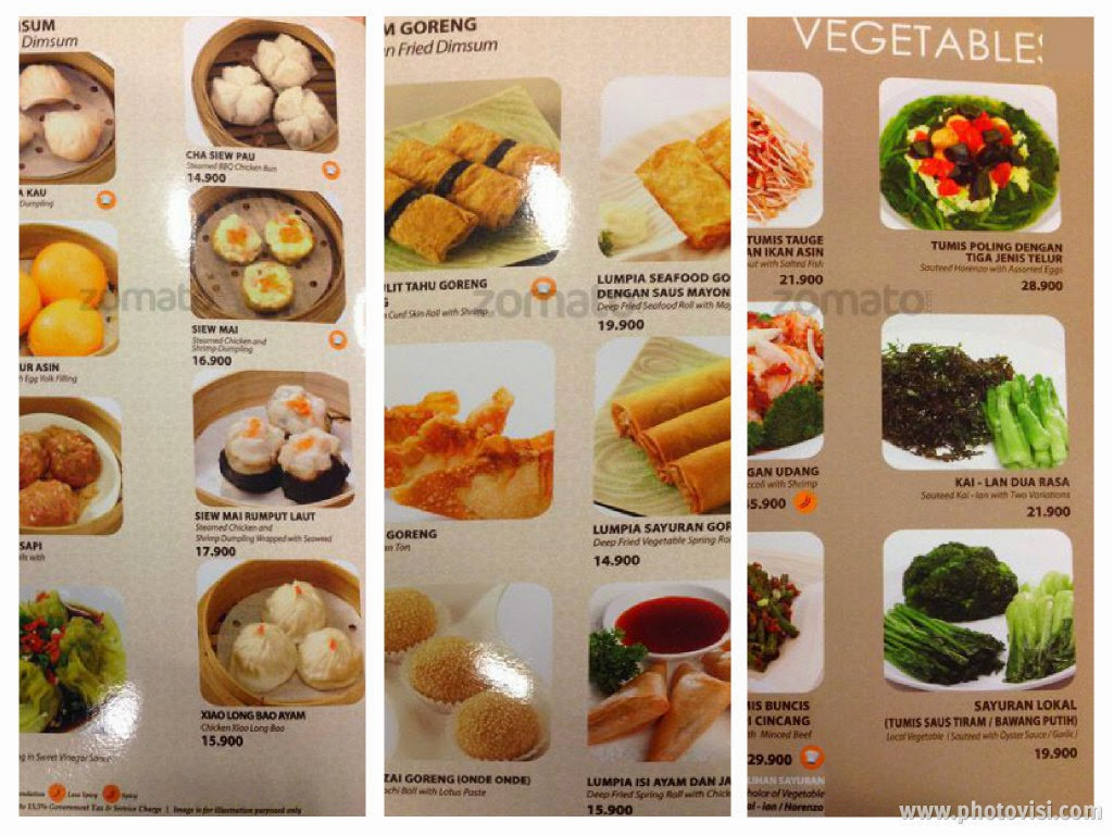 Imperial Kitchen Menu Harga