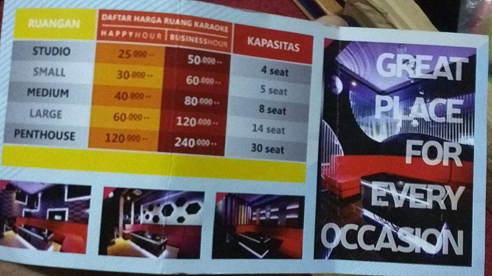 Pengalaman Dan Harga Karaoke Di Happy Puppy Hartono Mall Yogyakarta