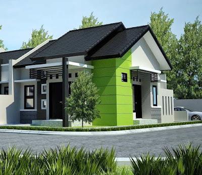 Desain Terbaru Rumah Minimalis Sederhana Lokasi Pojok Paling Nyaman Ditempati