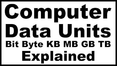 perbedaan bit dan byte