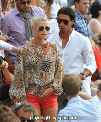 Sami Khedira and his sexy girlfriend Lena Johanna