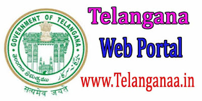Telangana State New Web Portal-TS Govt Portals