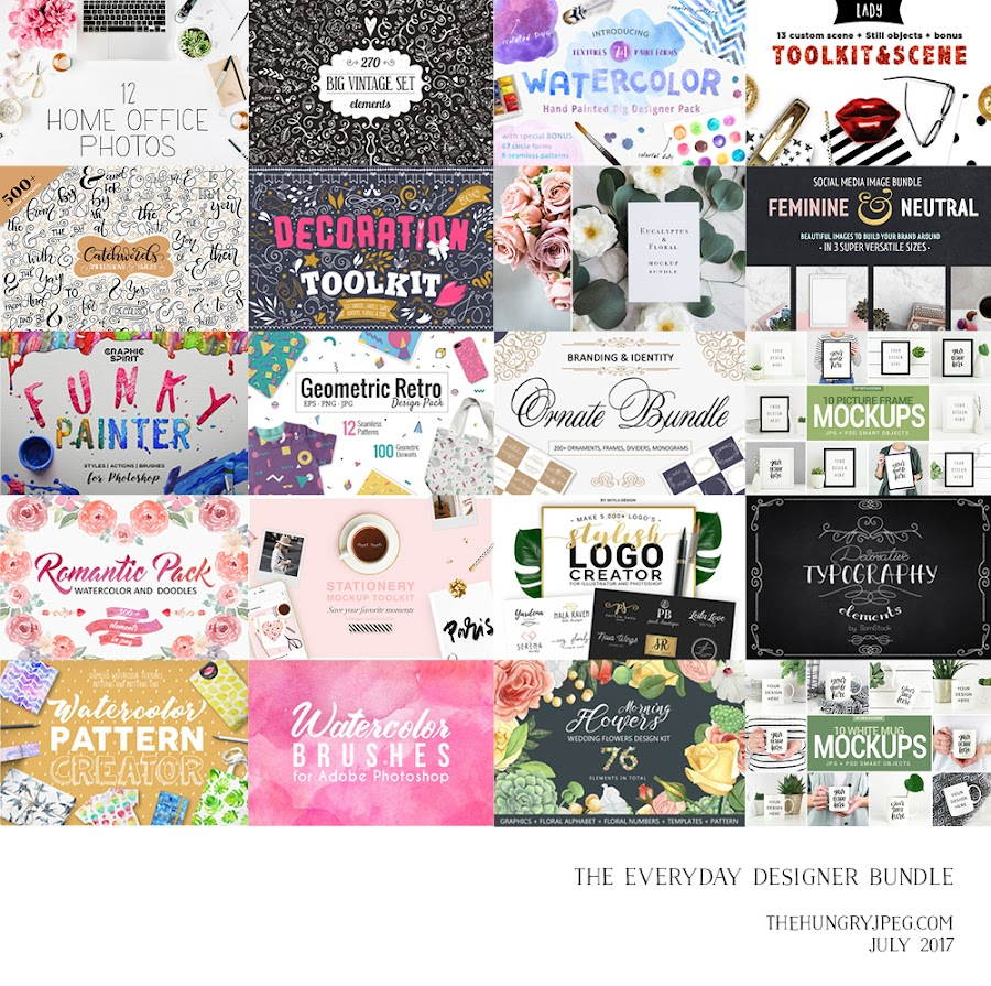 Fitness And Chicness-The Hungry JPEG-The Everyday Designer Bundle