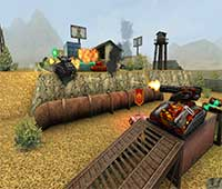 لعبة الاكشن والحرب Tanki Online للكمبيوتر