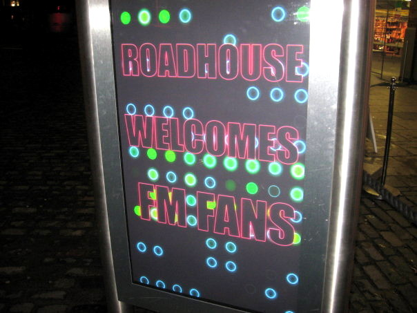 The Roadhouse, Covent Garden welcomes FM fans