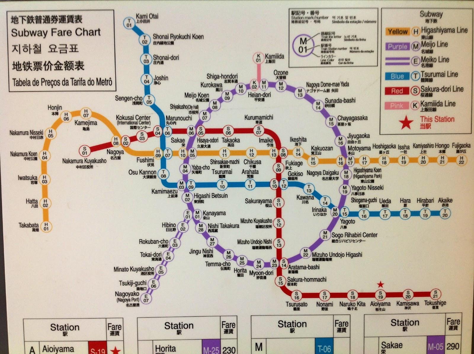 Nagoya Subway: I am not a Subway Otaku!