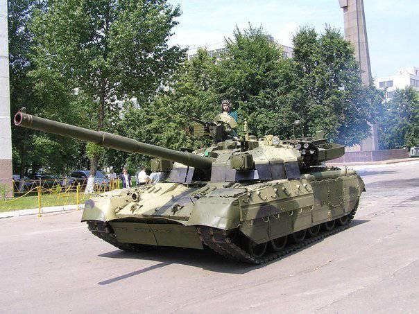Основний бойовий танк Т-84-120 «Ятаган» на Ukrainian Military Pages