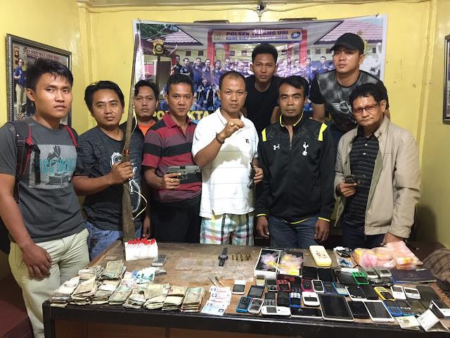 Bandar Narkoba, Wakil Ketua BPD Ditangkap Polisi