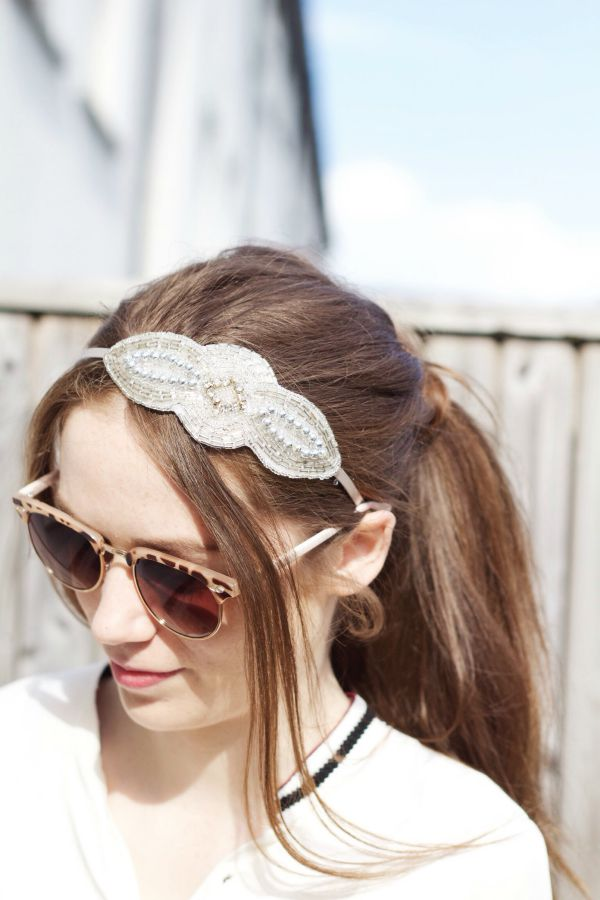 Statement headband