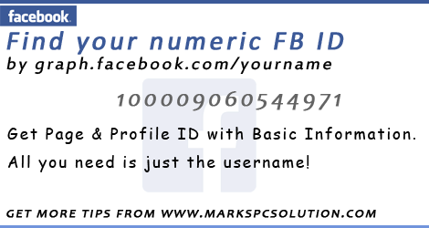 How to Find Numeric Facebook ID