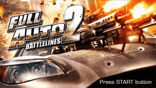 Full Auto 2 Battlelines PSP ISO - Download Game PS1 PSP Roms