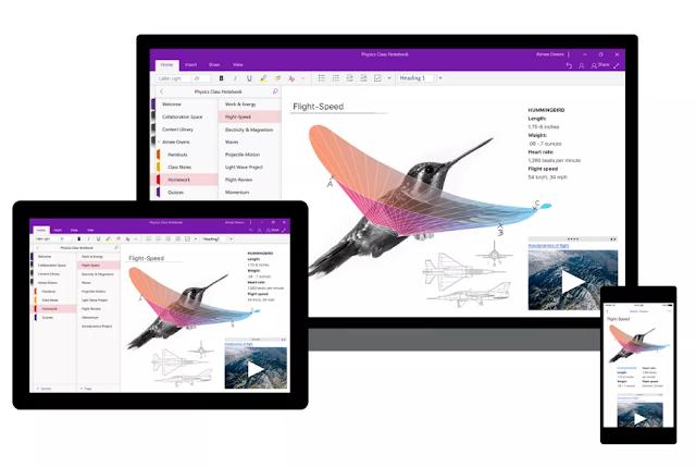 مايكروسوفت تعلن عن تحديث كبير لبرنامج OneNote على Windows 10