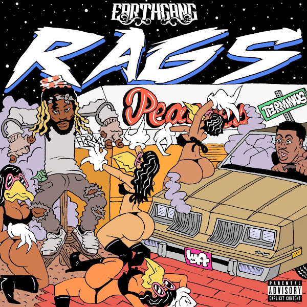 EARTHGANG - Rags - EP Cover