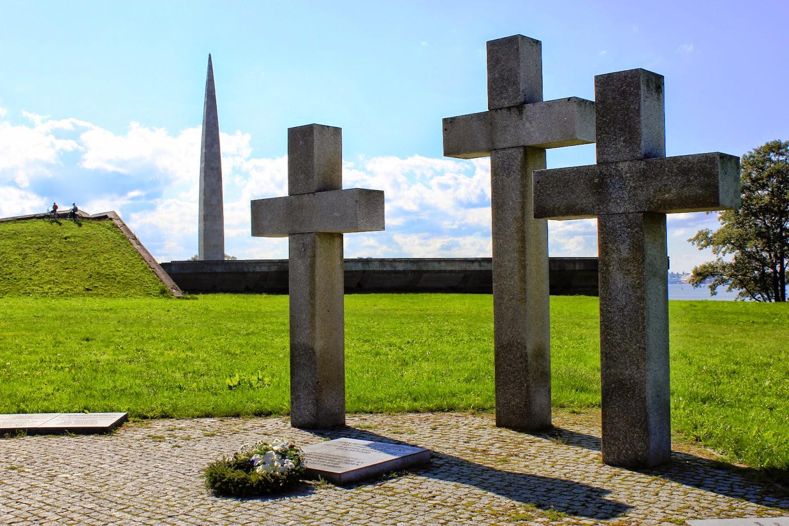 Tallin cmentarz żołnierzy Niemieckich