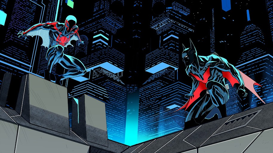 Spider-Man 2099, Batman Beyond, 4K, #140