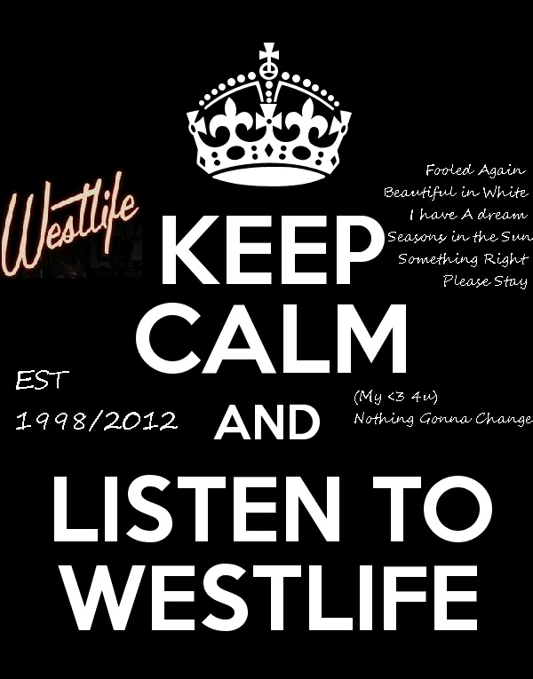 This is Makalah: The Westlife New songs and The Legendary songs