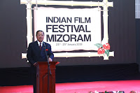CHIEF MINISTER IN INDIAN FILM FESTIVAL MIZORAM A HAWNG
