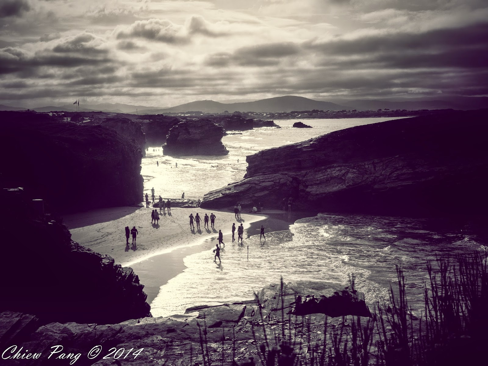 Playa de Las Catedrales, As Catedrais, Beach of the Cathedrals, Galicia