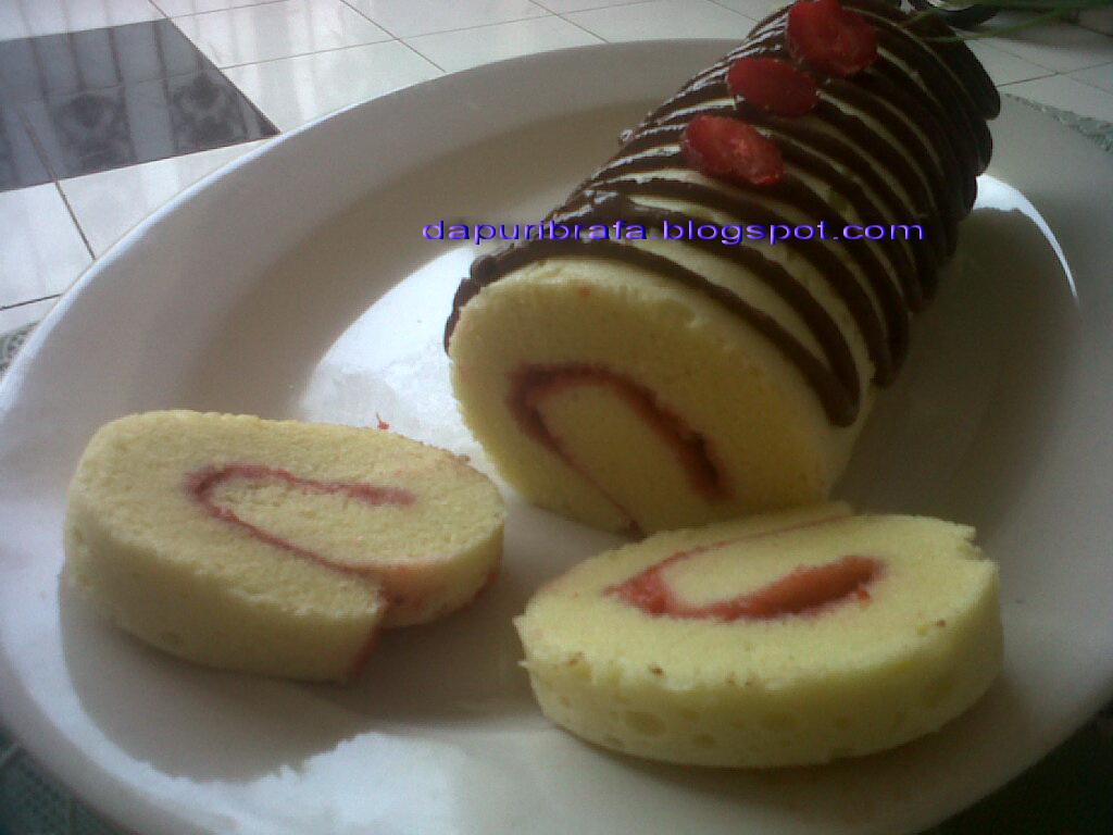 Resep Cake Pisang Ncc Fatmah Bahalwan: Dapur IbRafa: Bolu Gulung Kukus