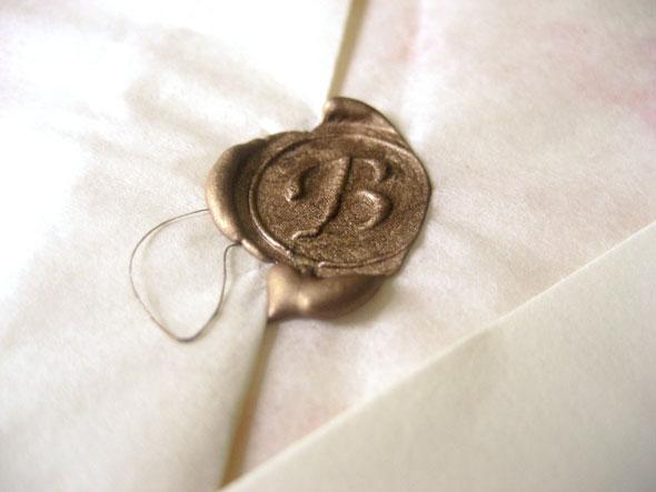 Wax Seals For Wedding Invitations: Leaff Design, Blog: June 2011