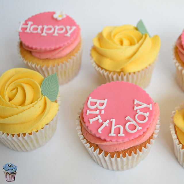 Fondant Tappits, Icing, Buttercream, Happy Birthday, Cupcakes