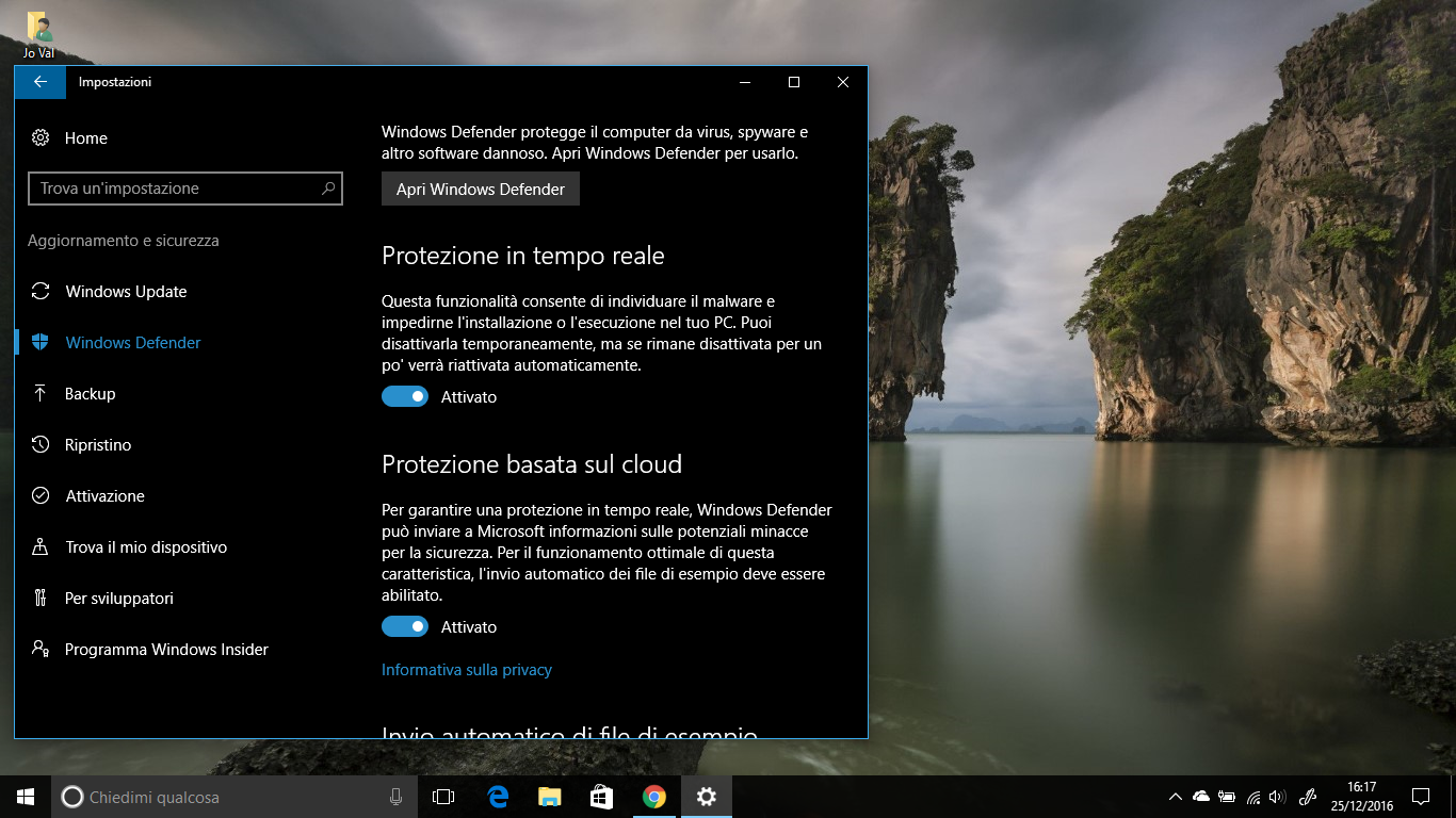 Come abilitare la Scansione dell'Unità di Rete con Windows Defender in Windows 10 HTNovo