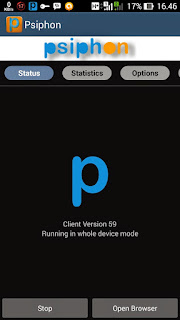 Cara Internet Gratis Menggunakan Psiphon di Android