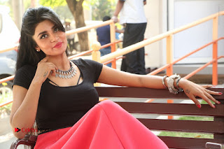 Telugu Actress Harini Stills at Dhyavudaa Movie Teaser Launch  0415.JPG