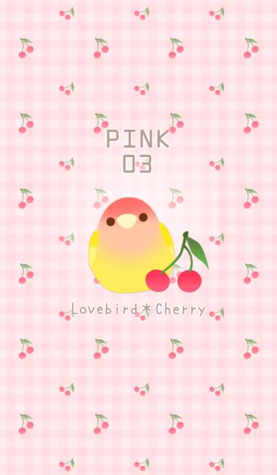 Lovebird&Cherry/Pink 03