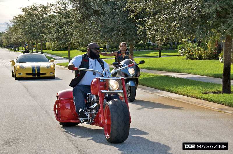 The car collection of Rick Ross - Garage Car