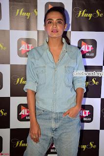 Surveen Chawla and her denim wears stunning Combination Exclusive Galleries