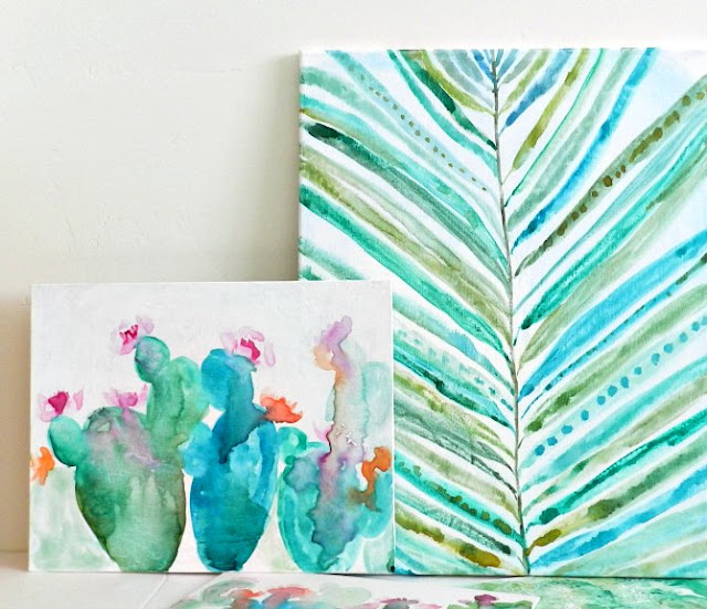 Watercolor Tutorials from Grow Creative Blog