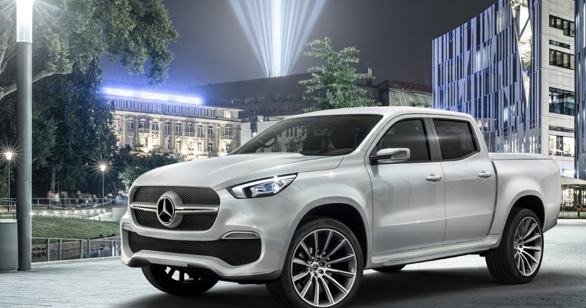 anything on wheels mercedes benz concept x class aims to bring luxury to pickup trucks. Black Bedroom Furniture Sets. Home Design Ideas