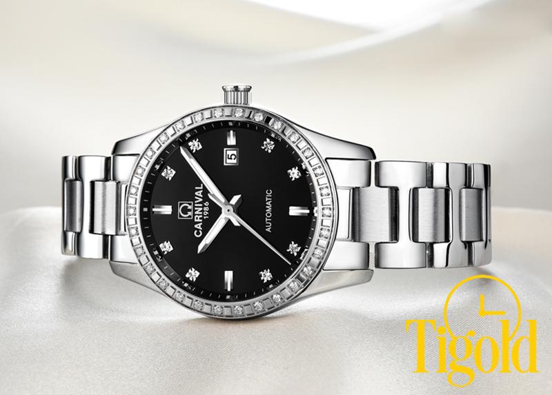 đồng hồ đeo tay nữ carnival giá rẻ