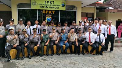 Kapolres Banyuwangi Lakukan Kunjungan Ke Polsek Muncar