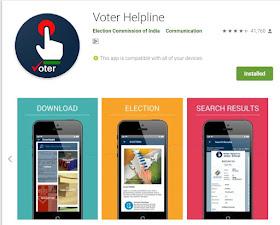 Download Voter Helpline Application Official election commission Application 1