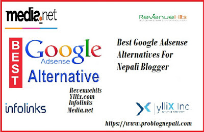 Best Google Adsense Alternatives For Nepali Blogger Pro Blog