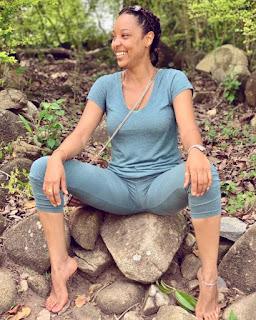 Ghanaian Actress, Nikki Samonas Flashes Camel Toe In New Beach Photos