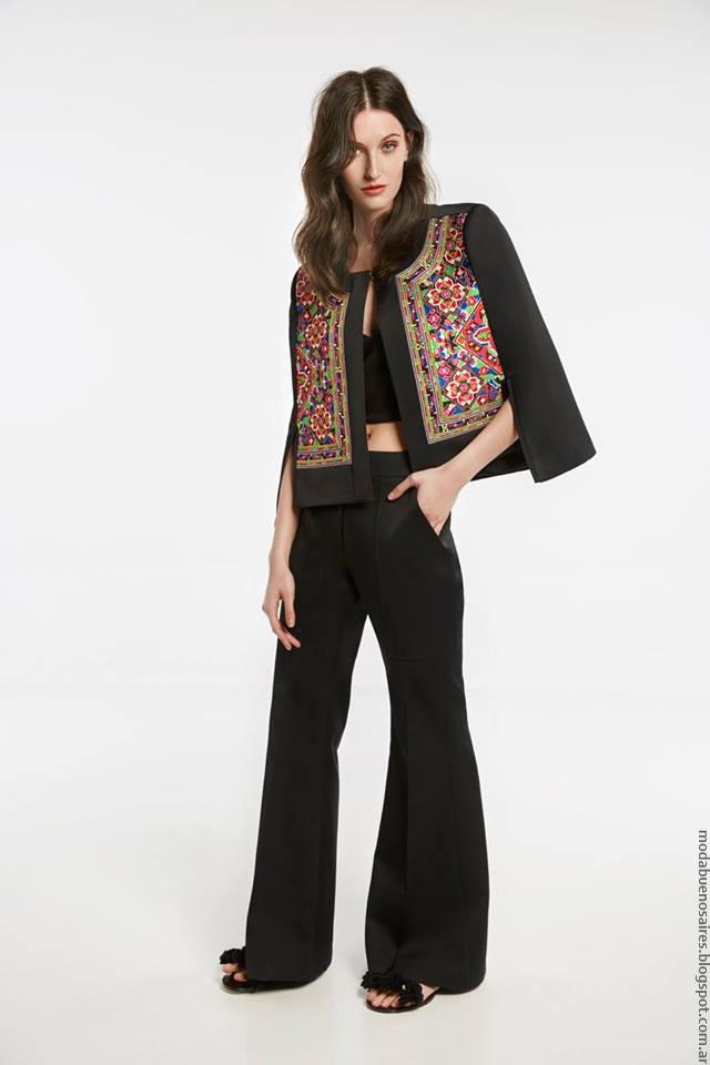 Chaquetas de moda mujer primavera verano 2017 María Cher. Pantalones de vestir verano 2017 María Cher.