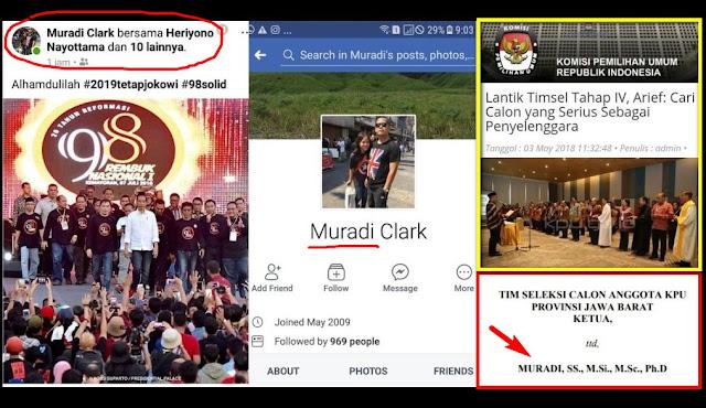 Ternyata Ketua Tim Seleksi KPU Jabar Adalah Staf Ahli KSP Jokowi