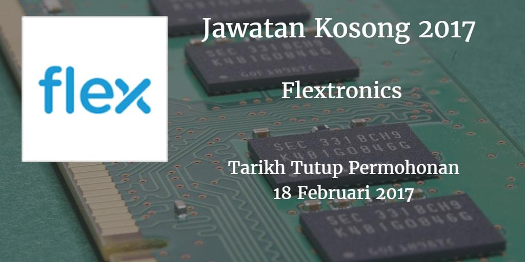 Jawatan Kosong Flextronics 18 Februari 2017