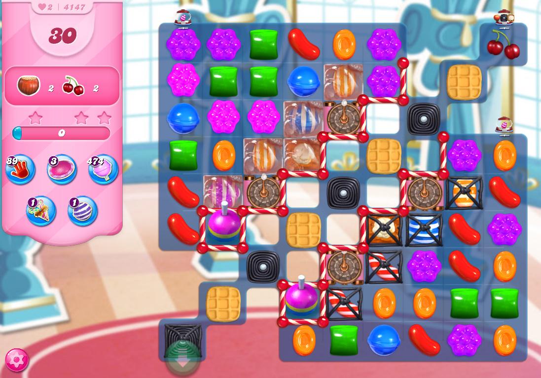 Candy Crush Saga level 4147