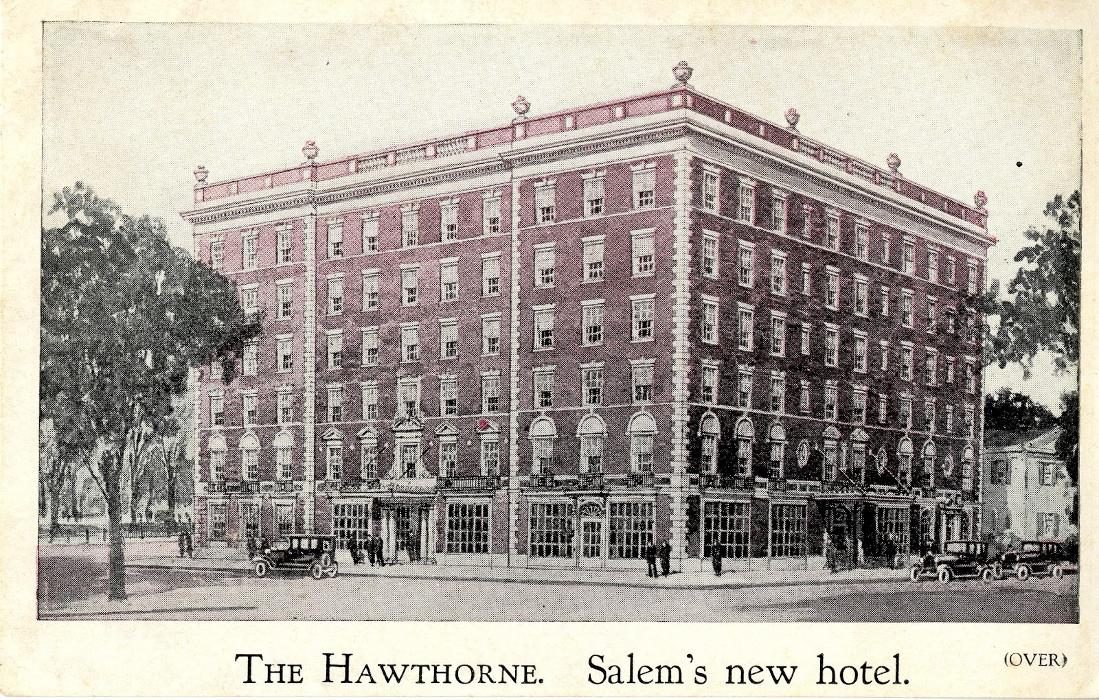 History by the Sea: Hawthorne Hotel - Salem, Massachusetts