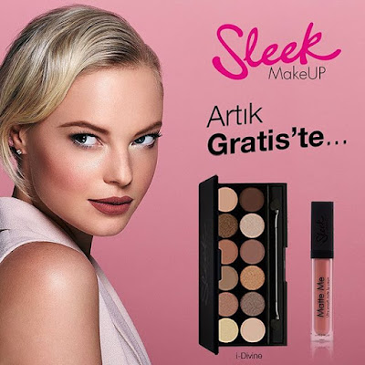 Sleek Makeup Gratis'te!