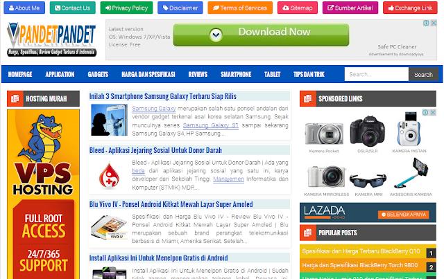 Pandet Pandet - Situs Teknologi Informasi dan Komunikasi