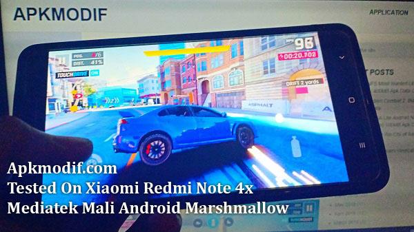 Apkmodif.com Asphalt 9 Legend Tested On Xiaomi Redmi Note 4x Mediatek Mali Android Marshmallow