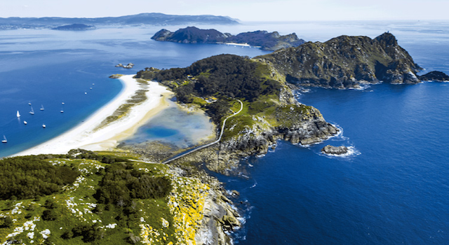 Ilhas Cíes em Vigo