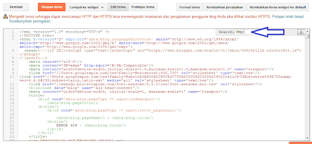 cara setting ssl https di blogspot